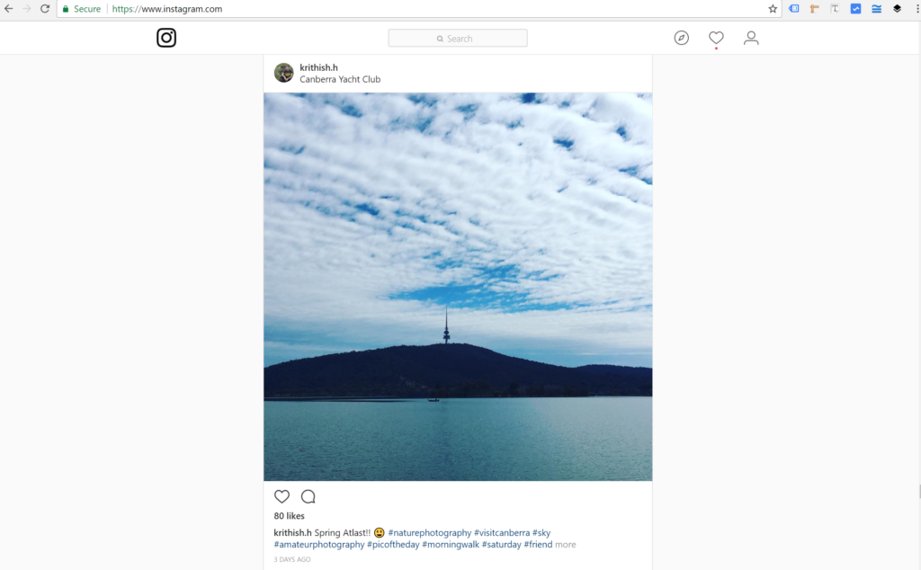 Instagram web view - donwload Instagram for Desktop